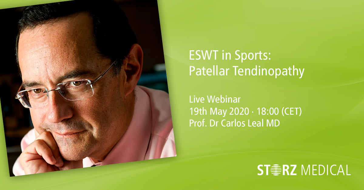Webinar »ESWT in Sports: Patellar Tendinopathy«