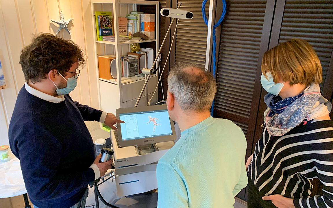 2first NEUROLITH system installed in Switzerland
