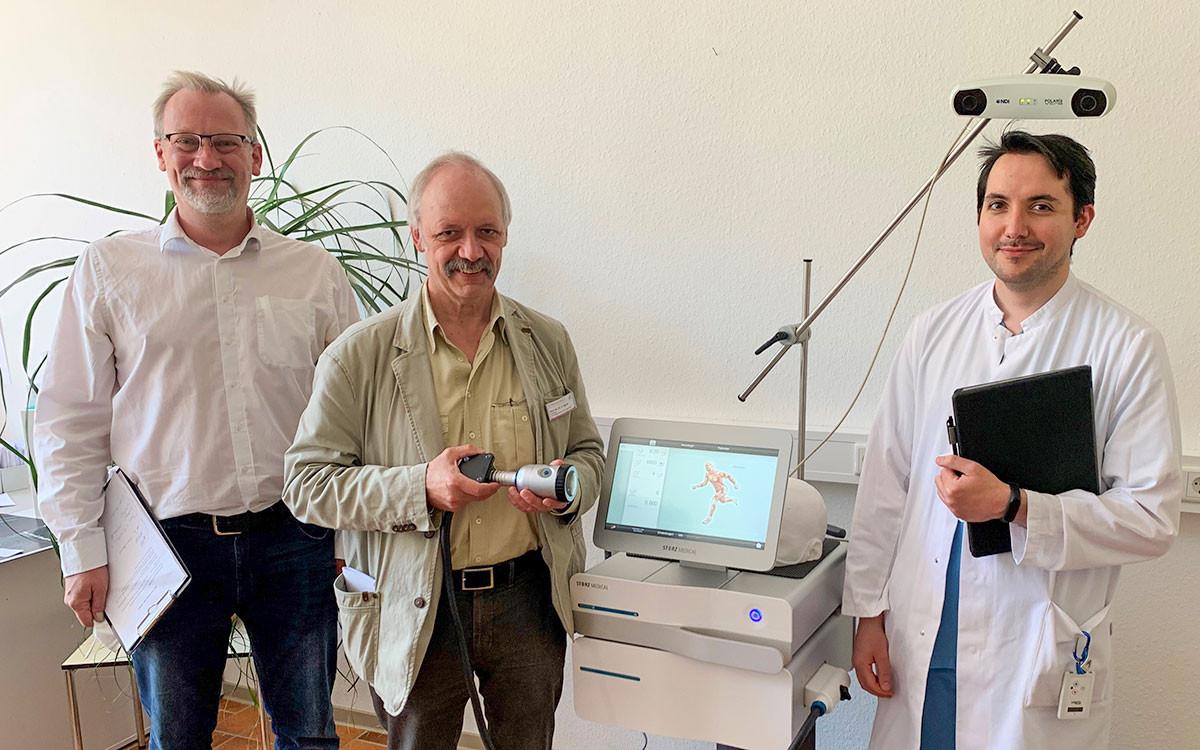 NEUROLITH-Installation_Prof. Dr. Dr. Dipl.-Psych. Ulrich Sprick