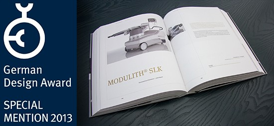 Second design award for the MODULITH SLK »inline«
