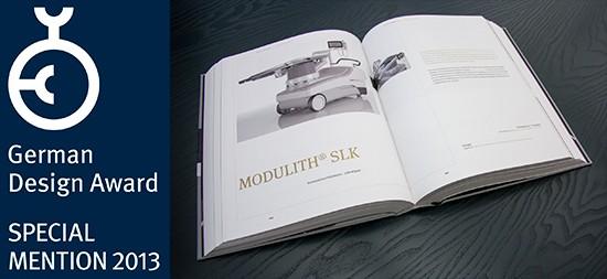 Der zweite Designpreis für den MODULITH® SLK »inline«