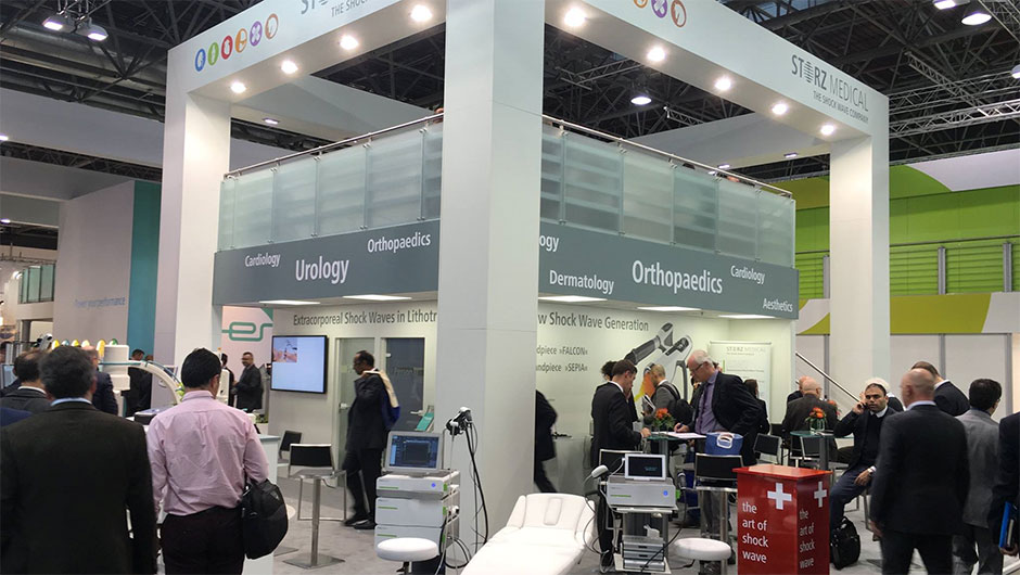 STORZ MEDICAL booth at MEDICA 2015