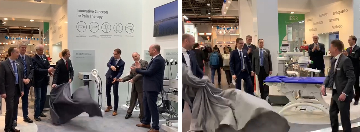 MEDICA 2019: STORZ MEDICAL presents new innovations NEUROLITH, MAGNETOLITH and redesigned MODULITH SLC